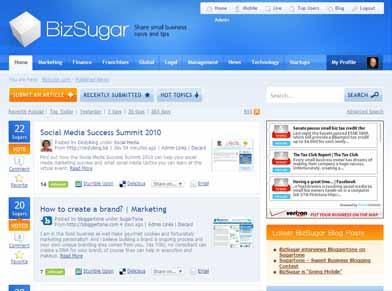 BizSugar Screenshot