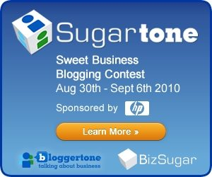 HP Sugartone blogging contest