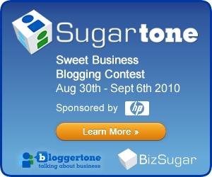 HP Sugartone blogging contest