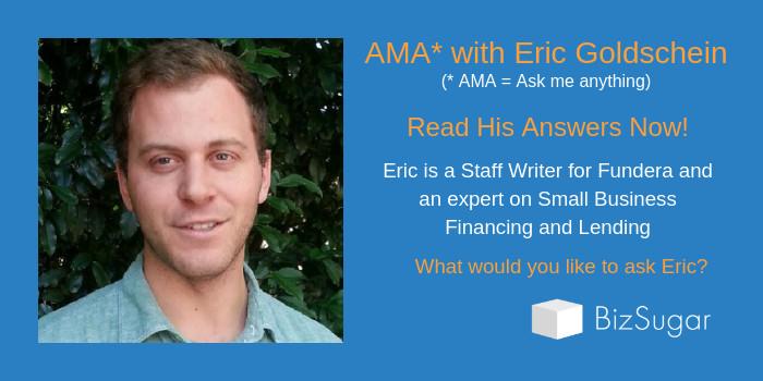 AMA Eric Goldschein Read Answers