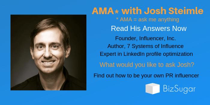 AMA with Josh Steimle Answers