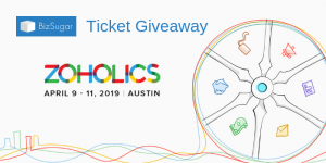 BizSugar Zoholics Ticket Giveaway