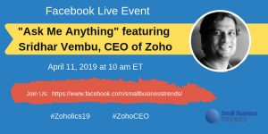 AMA with Sridhar Vembu, CEO and Co-founder of Zoho 7