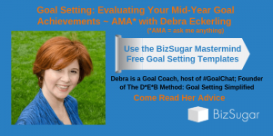 Debra Eckerling Goal Setting Evaluating Your Mid-Year Goal Achievements Free Goal Templates