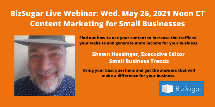 Content Marketing for Small Businesses with Shawn Hessinger