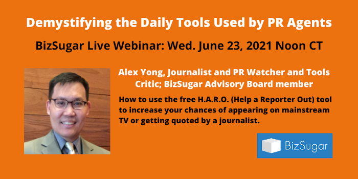 H.A.R.O. Tips: Demystifying the Daily Tools Used by PR Agents with Alex Yong