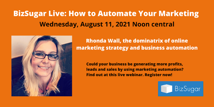 How to Automate Your Marketing with Rhonda Wall